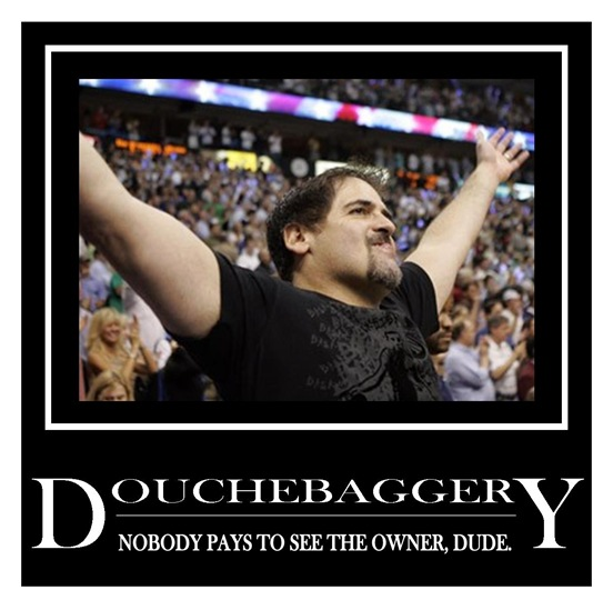 Mark Cuban Douchebag